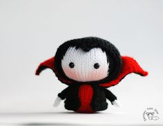 *PLEASE READ! This is not a listing for the finished items! It is for the PATTERNS to make Vampire Doll. But if you would like to purchase a completed