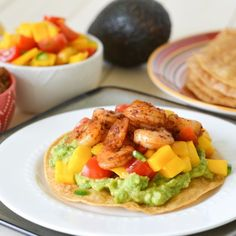 Tostadas, Black beans and Mango on Pinterest