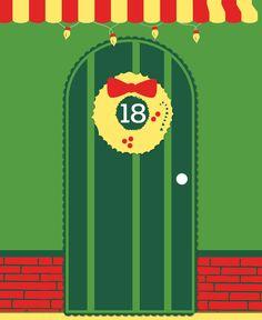 Day 18 - Rockin' around the Christmas tree... #benesweetshoppe