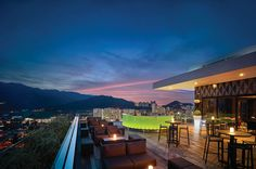 Penang, Malaysia | With its exquisite design, striking rooftop bar, and convenient location on the bustling Jalan Kelawai, G Hotel Kelawai is one of the hottest addresses in Penang.