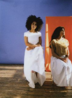 Musical twins Ibeyi by Sophie Wright for So It Goes Magazine. Styled by Frances Davison.