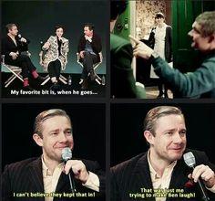 Lol oh Martin!
