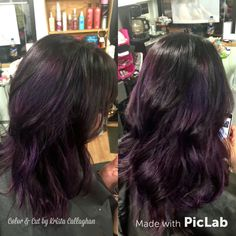 #balayage #rusk #purplehair #haircolor  #sugarnspicesalon #colorandcutkristacalaghan #buttemontana
