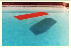 David Hockney, Swimming Pool Fire Island, 1978 Postcard.