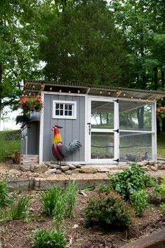 Chicken Coop - Back to Her Roots - they used the garden coop plans