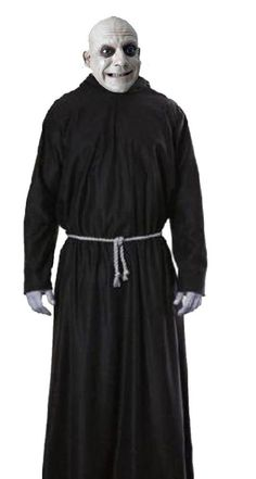 Creepy Uncle Fester Addams Family Costume Fancy Dress Halloween