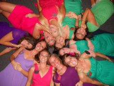 Such a fun picture and the epitome of our fun and loving sisterhood!