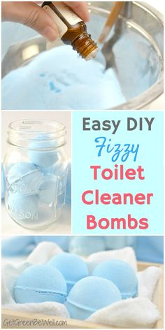 Hate cleaning the toilet? Which is why these easy to make DIY fizzy toilet bowl cleaner tablets are wonderful! No toxic chemicals in this green cleaning hack! Use all natural ingredients for the toilet cleaner that's pretty enough to leave out Diy Home Cleaning, Homemade Cleaning Products, Toilet Cleaning, Cleaning Recipes, House Cleaning Tips, Green Cleaning, Natural Cleaning Products, Cleaning Hacks, Bathroom Cleaning