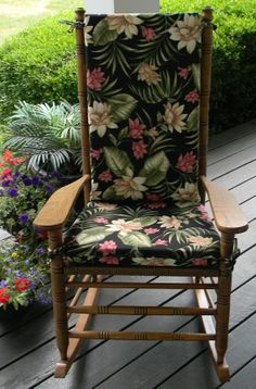 ... Furniture  Indoor Furniture  Rocker Seat Cushions  Cracker Barrel