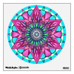 Wall Decal Mandala   http://www.zazzle.com/wall_decal_mandala-256775036278048342