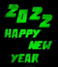 Free Cool Green New Year Background 2022