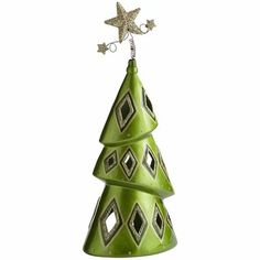 Christmas Tree Tealight Holder This just makes me smile. Christmas Angels, Christmas Art, Christmas Projects, Christmas Ornaments, Clay Projects, Clay Crafts, Pottery Handbuilding, Christmas Party Favors, Polymer Clay Christmas