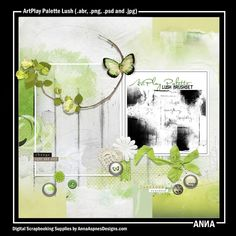 Oscraps :: Shop by Designer :: Anna Aspnes Designs :: ArtPlay Palette Lush