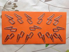 Lightning Bolt Paper Clips