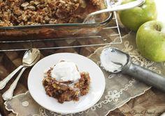 Best Ever Apple Crisp (Gluten Free AND Sugar Free!)