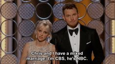 Seriously, a comedic duo who are also hopelessly in love with each other? OK. | 21 Times Chris Pratt And Anna Faris Revived Our Faith In Love