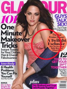 Kristen Stewart. | The Most WTF Celebrity Photoshop Fails Of All Time...Where did the rest of her arm go?