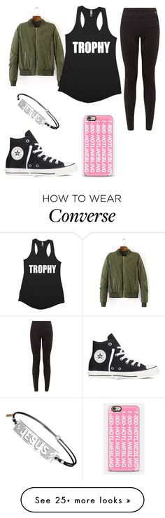 """""""My Legit Outfit Today #6"""" by fashionmaster101 on Polyvore featuring Converse and Casetify"""