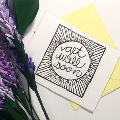New get well soon cards are now available