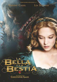 El próximo 14 de marzo llega a los cines españoles 'La bella y la bestia', adaptación cinematográfica del famoso cuento de hadas dirigida por Christophe Gans. Ya tiene PÓSTER en español.