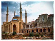 #beirut #lebanon #libanon #city #mosque #history #heritage #architecture #art #travel #2007 #photography #photos #photo #myphoto #ruins