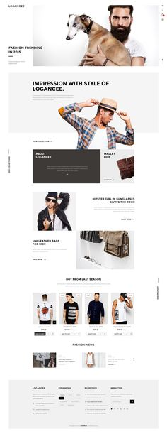 Here white space is used well to create a fresh clean look for this web page