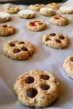 Nyttiga Cookies - ZEINAS KITCHEN Gluten Free Cookies, Healthy Baking, Doughnut, Sweets, Sugar, Chocolate, Desserts, Recipes, Food