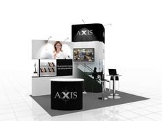 Modular  Exhibition Stand Design (741)