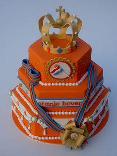 Dutch Queen's Day Cake.