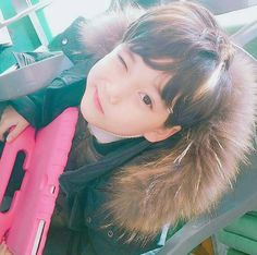 Pnkndyllw ™ Cute Asian Babies, Korean Babies, Asian Kids, Asian Cute, Cute Korean, Cute Babies, Cute Little Baby, Little Babies, Baby Kids