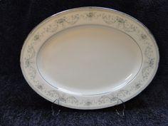 """Noritake Colburn Oval Serving Platter 13 1/2""""  6107 #Noritake"""