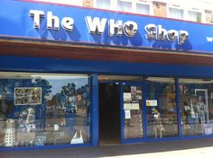The Who Shop. Address: The Who Shop, 39-41 Barking Road, Upton Park, London E6 1PY Hours: 10:00-5:00 Phone: +44 (0)20-8471 2356 One day I will go here and spend the whole day