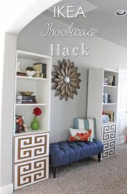 IKEA Bookcase HACK | a little of this, a little of that