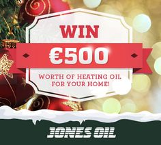 WIN €500 Worth of Heating Oil for Your Home!