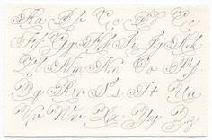 Italian Hand Exemplar  #calligraphy #pointedpen #italianhand #exemplar #weddingcalligraphy #envelopecalligraphy