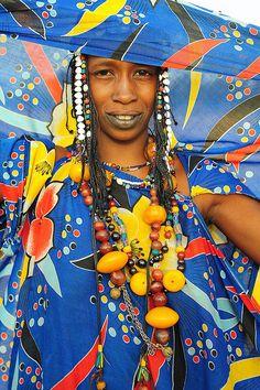 Africa |  Peul woman from North of Mali | © Luca Gargano