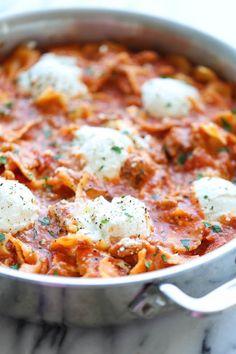 Easy One Pot Lasagna