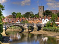 Aylesford Bridge, Kent, England Homes England, Kent England, Old Bridges, English Village, British Countryside, Great Britain, All Over The World, Beautiful Scenery, City