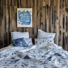 Spoonflower: Shop, design custom fabric, wallpaper & home decor My Marine, Marine Life, Card Designs, Surface Design, Custom Fabric, Spoonflower, Comforters, Greeting Card, Bed Pillows
