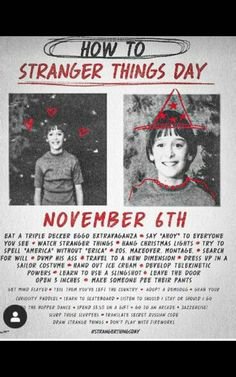 November is the day Will Byers went missing 35 years ago. It's Netflix's official Stranger things day! Stranger Things Theories, Stranger Things Actors, Watch Stranger Things, Stranger Things Aesthetic, Stranger Things Netflix, Stranger Things Season, Stranger Things Christmas, Starnger Things, Hanging Christmas Lights