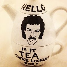 Found in the KCRW Kitchen........ Is it TEA you're looking for!?