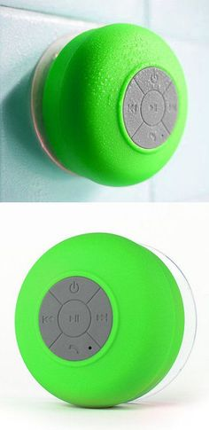 Bluetooth Shower Speaker // LOVE this thing! Use it all the time