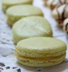 Ganache macarons au citron vert