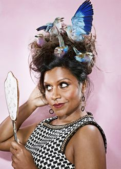 oh Mindy, you whimsical gal ~