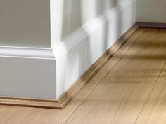 flooring aesthetic Not many people knows that floor skirting is more than just enhancing the aesthetic of a room. Let us share with you the importance of having skirting with vinyl flooring. Flooring, Skirting Boards, House Interior, Floor Skirting, Modern Baseboards, Home, Home Renovation, Floor Decor, Skirting