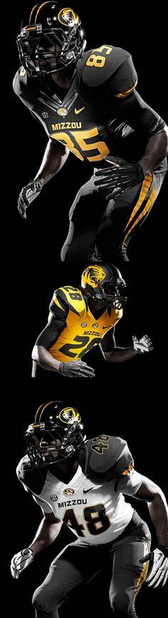 Missouri Tigers new football uniforms for SEC inaugural season