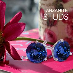 Looking for a cool new collection of #Tanzanitestuds to wear? Click at toptanzanite.com to get all new collection of it.