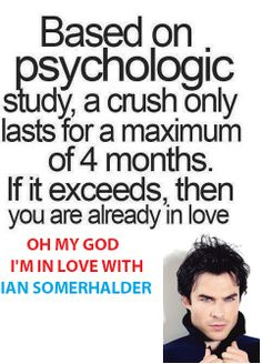 Ian somerhalder crush! so funny!