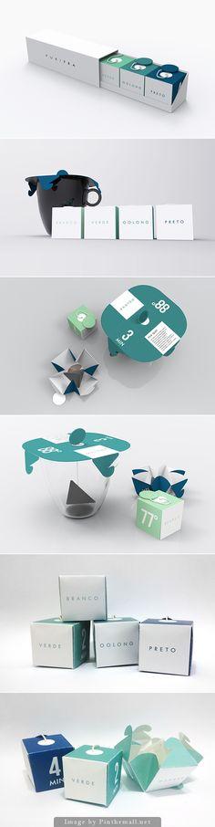 PURITEA tea packaging