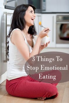 pEmotional eating can really sabatoge your diet, and weight loss. Here are some tips, a few of which were seen on Dr. Oz. Hopefully this helps. 1. Be Aware. Much of emotional eating is so unconscious, become conscious of you emotioanl eating triggers. Pay attention to where or how you stress eat. Are alone, with /p
